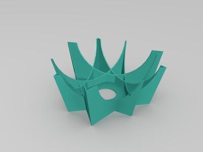创意灯罩-3d打印模型