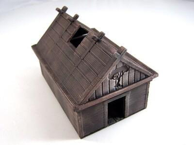 维京人的房子-3d打印模型