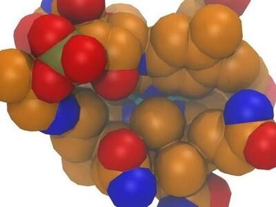 维生素B12-3d打印模型