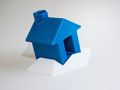 小雪山小屋-3d打印模型