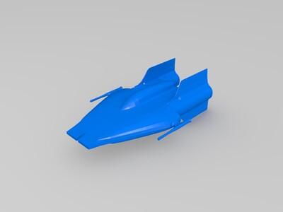 展翅-3d打印模型