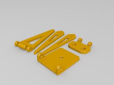 小三脚架-3d打印模型