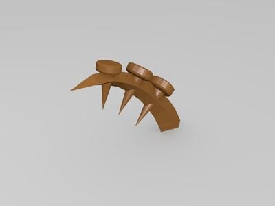 守望先锋 路霸 猪的钩子-3d打印模型