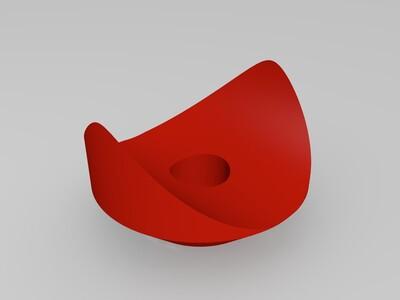 钢管膨胀栓-3d打印模型