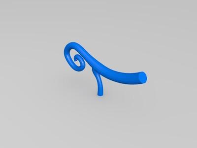 海贼王-牛牛果实长劲鹿形态-3d打印模型