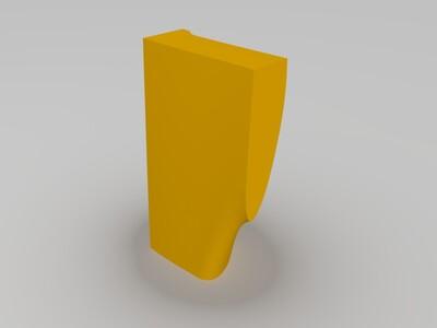 全打印遥控飞机-3d打印模型