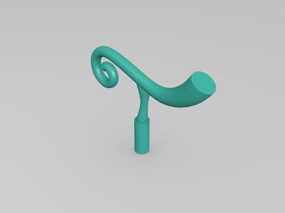 恶魔果实-橡胶果实-3d打印模型
