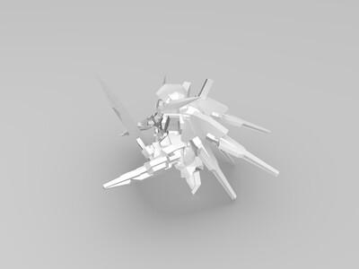 再生高达-3d打印模型