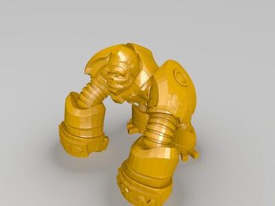 金刚-3d打印模型