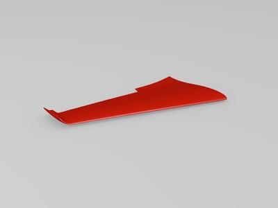天行者无人机-3d打印模型