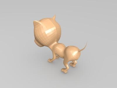 小笨狗-3d打印模型