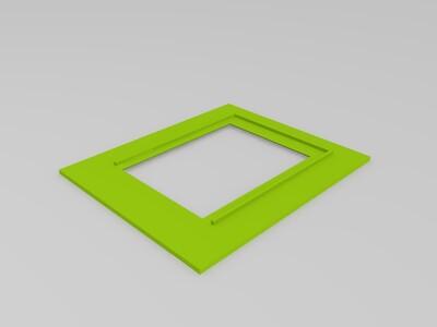 精致相框-3d打印模型