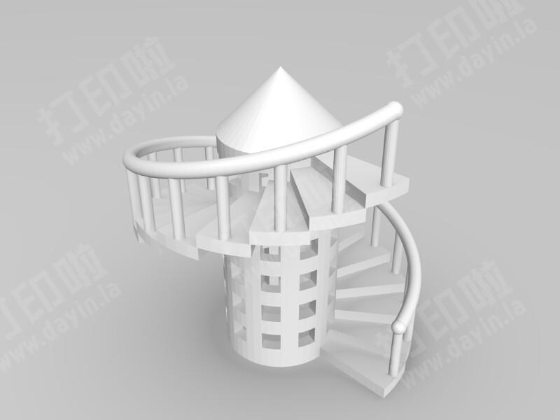 意大利风情楼-3d打印模型