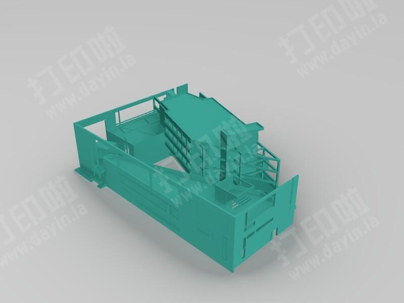 三合院-3d打印模型