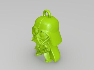 达斯维达 钥匙扣-3d打印模型