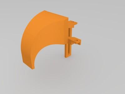 涡轮风扇罩-3d打印模型