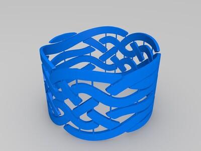 手环-3d打印模型