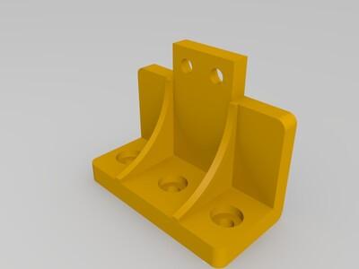 標準三角洲耗材支架配件-3d打印模型