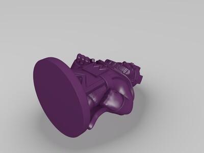 皇室战争-国王-3d打印模型