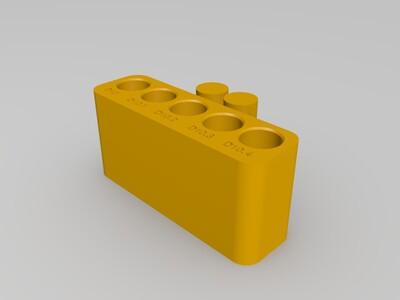 精度测试-3d打印模型