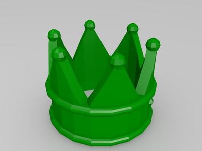 皇冠1-3d打印模型