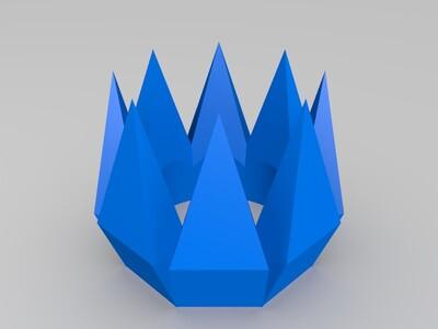 皇冠2-3d打印模型