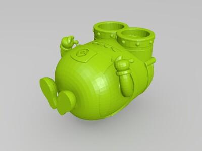 垂兽-3d打印模型