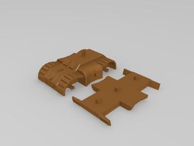 坦克玩具-3d打印模型