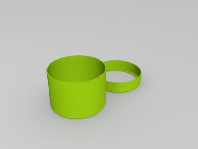 Hand_COFFEE_Mill___Grinder-磨豆器-3d打印模型