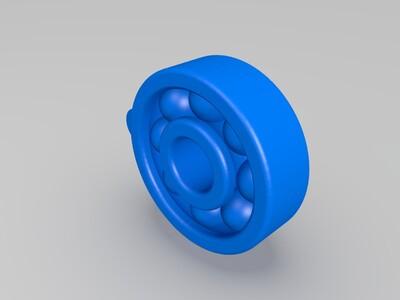 小型轴承钥匙链-3d打印模型