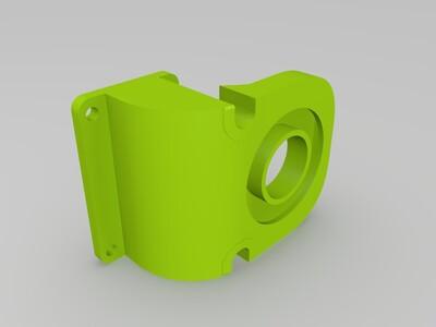 kossel3改进的导风嘴-3d打印模型