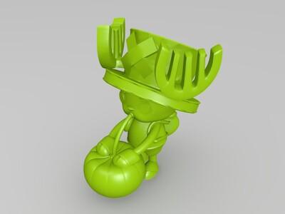 海贼王 乔巴-3d打印模型