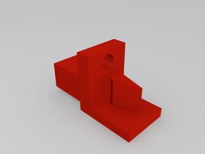 皮带张紧器-3d打印模型