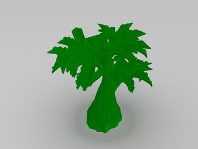 丛林树(我的世界)-3d打印模型