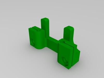 Axidraw写字机器人最完美打印件-3d打印模型