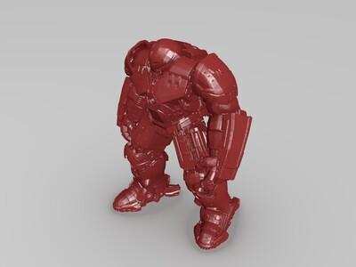 哈克巴斯特-3d打印模型