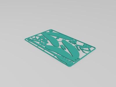 蜻蜓组装-3d打印模型