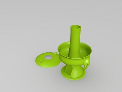 藏式火锅-3d打印模型