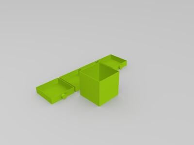 收纳盒-3d打印模型