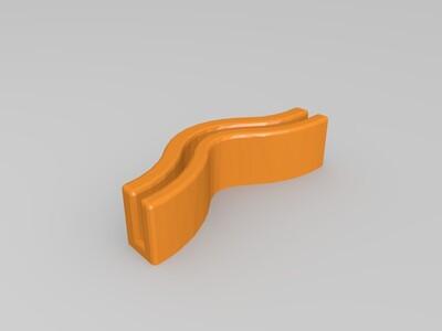 UI皮带张紧-3d打印模型