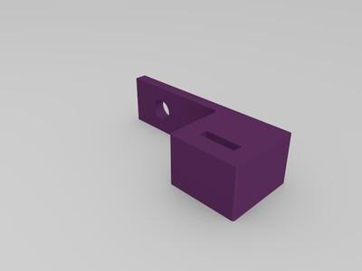 XY轴限位器固定座-3d打印模型