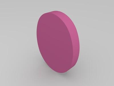 砚台-3d打印模型