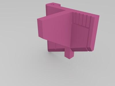 战神金刚 机甲舰队 胸口-3d打印模型