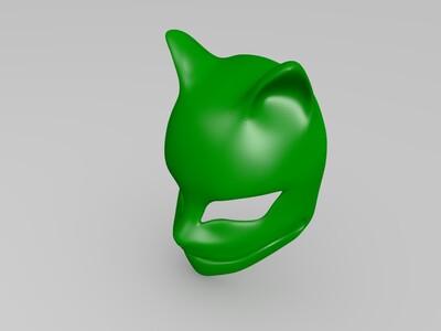妖狐面具-3d打印模型