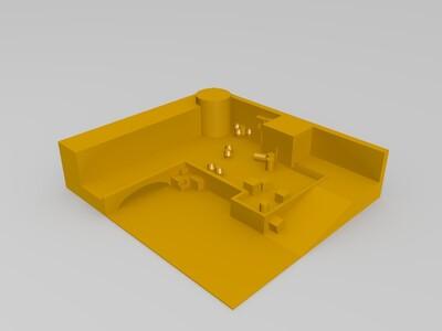 csgo dust2 A平台-3d打印模型