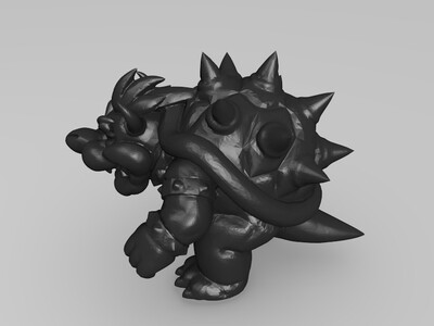 马里奥--库巴-3d打印模型