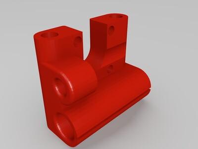 X轴固定支架-3d打印模型