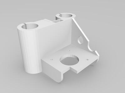挤出头支架-3d打印模型
