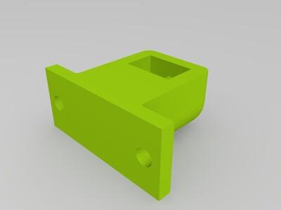 同步带支架-3d打印模型