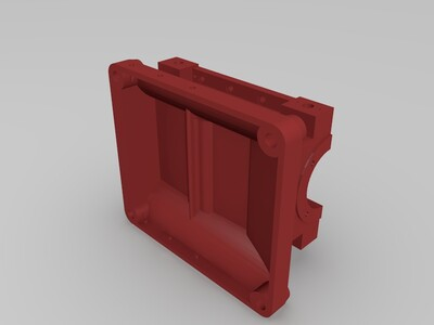 轴承座-3d打印模型